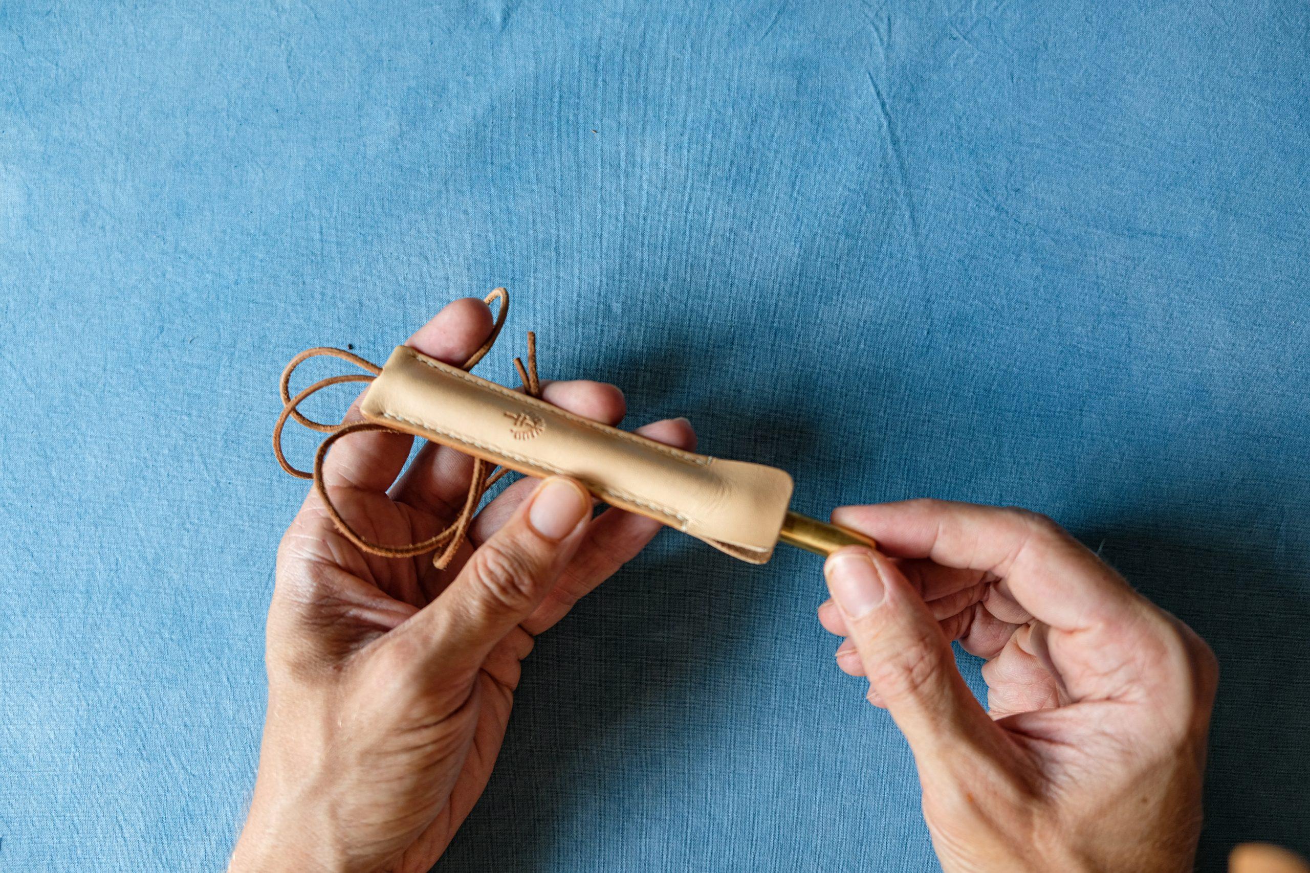 lerif designs leather pen etuis demo